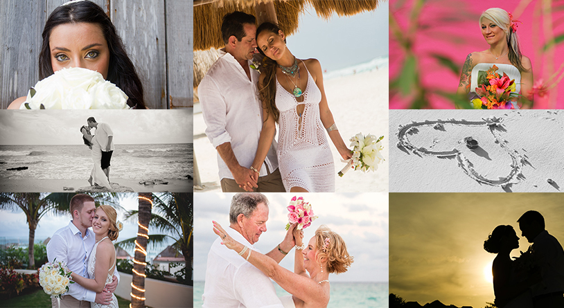 Cancun Wedding Photography Packages